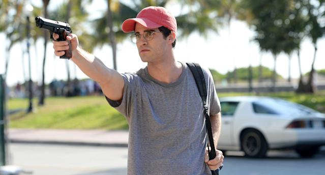 Darren Criss as Andrew Cunanan. (Photo: Jeff Daly/FX)
