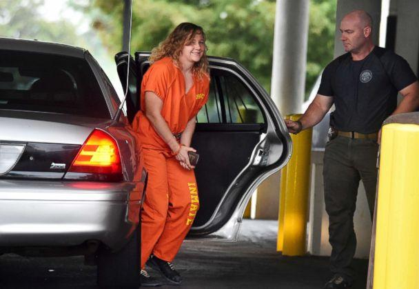 PHOTO: Reality Winner arrives at a courthouse after she pleaded guilty in June to copying a classified U.S. report and mailing it to an unidentified news organization, in Augusta, Ga., Aug. 23, 2018. (Michael Holahan/The Augusta Chronicle via AP)