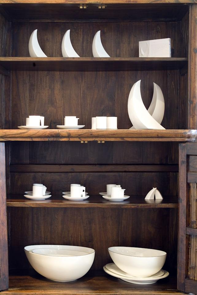 <p>Skip the crystal shop and head to the thrift store the next time you're looking for a nice (and affordable) glass set to fill your china cabinet.</p>