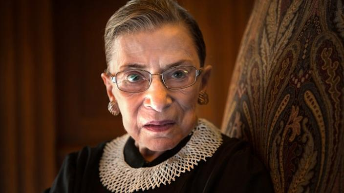 Justice Ginsburg was the second woman in US history to be nominated to the Supreme Court