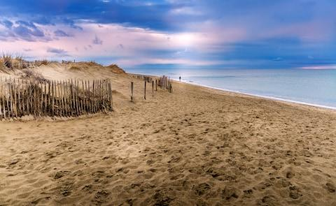 At Canet-en-Roussillon, near Perpignan, has calmer, warmer water than Cornwall - Credit: Laure F - Fotolia