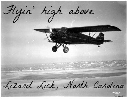 """<div class=""""caption-credit""""> Photo by: http://www.flickr.com/photos/sdasmarchives/4832575</div><div class=""""caption-title"""">Lizard Lick, North Carolina</div>The name 'Lizard Lick' is tied up in old folklore about bootleggers, lizards, and whiskey. They got their first stoplight in 1997. It was a very exciting time in Lizard Lick."""