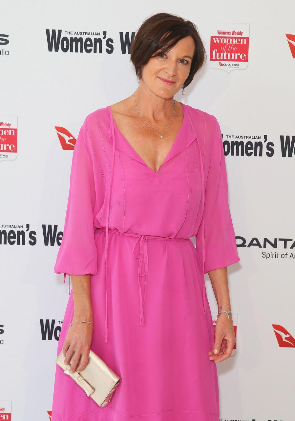 Cassandra looked pretty in pink as she stepped out for the awards in Sydney. Source: Getty