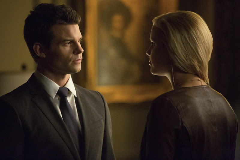 """The Originals"" -- Daniel Gillies as Elijah and Claire Holt as Rebekah"