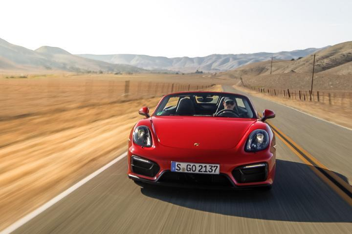 porsche boxster 718 photo