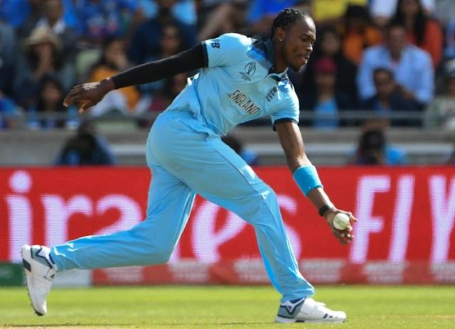 Jofra Archer has added a new dimension to England's attack at the World Cup (AFP Photo/Paul ELLIS)