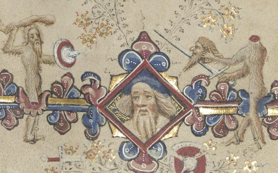 The wodewoses in the medieval manuscript - News Scans