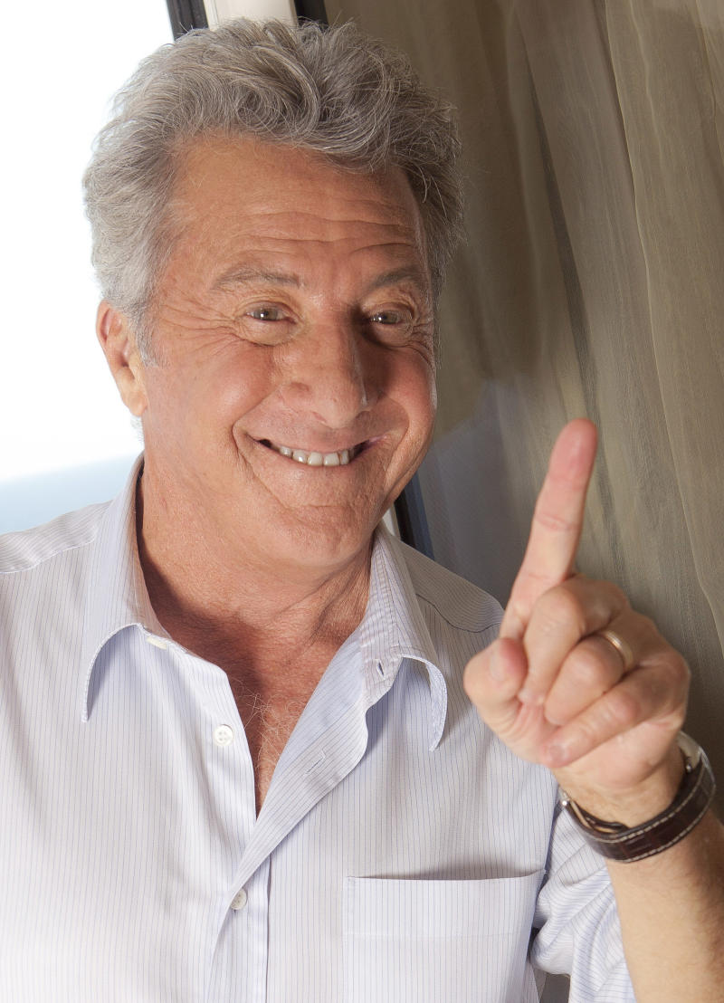 Actor Dustin Hoffman poses for a portrait during the 64th international film festival, in Cannes, southern France, Wednesday, May 11, 2011. (AP Photo/Joel Ryan)