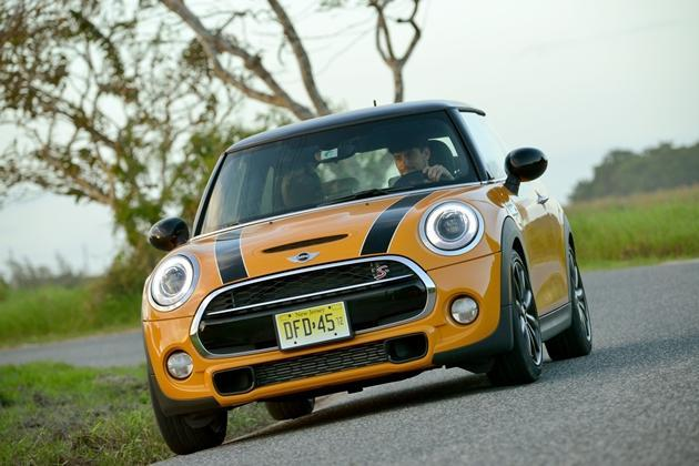 The Cooper S has a 2.0-litre turbocharged engine with 192bhp. (Credit: MINI)