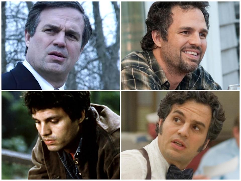 The best everyman in Hollywood (clockwise from top left): Mark Ruffalo in 'Dark Waters', 'The Kids Are All Right', 'Spotlight' and 'You Can Count on Me'