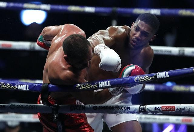 Anthony Joshua (right) wants to fight Tyson Fury next after his win against Kubrat Pulev (Andrew Couldridge/PA).