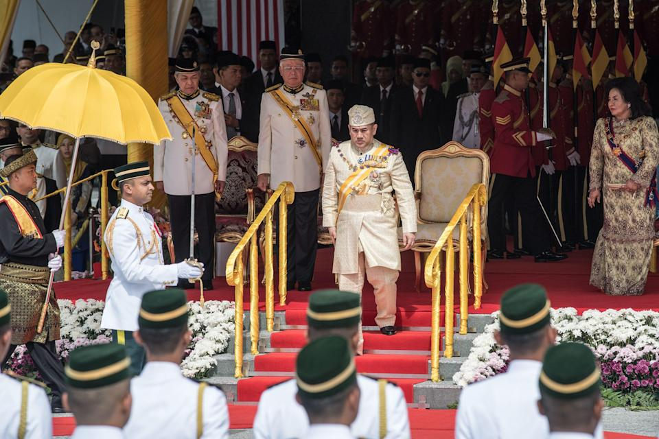 <p>Sultan Muhammed V is the 15th head of state in Malaysia and took to the throne in 2010. <em>[Photo: Getty]</em> </p>