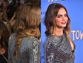 <p>Braids don't get more romantic than the one Delevingne wore to the <strong>Paper Towns</strong> New York premiere. Roszak twisted pieces of hair together to create a waterfall effect, and we're still madly in love with the style. </p>