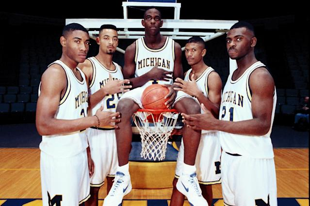 The Fab Five's complicated legacy includes some complicated relationships. (AP Photo)