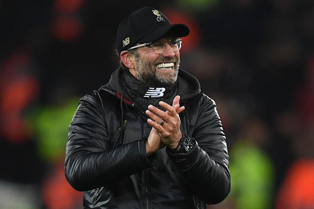 Jurgen Klopp is smiling now, but does his Liverpool side have what it takes to balance Champions League advancement and a grueling Premier League title race? (Evening Standard)