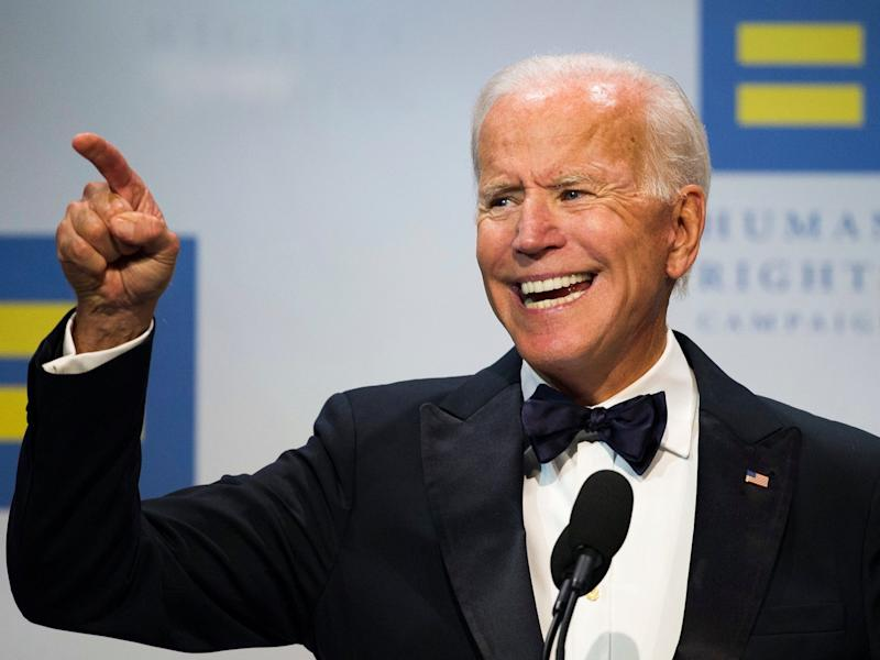 Trump mocks 'low IQ' Joe Biden for gaffe teasing 2020 presidential run