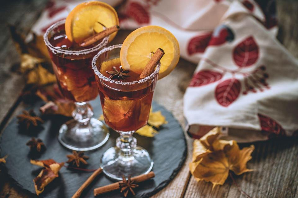 "<p>Feeling stressed this Thanksgiving? Treat yourself to an artfully crafted cocktail, composed with autumnal flavors in mind. From mulled wine to a pumpkin pie martini, there's a Thanksgiving beverage for every palette. </p><p><strong>More</strong><strong>: </strong><a href=""https://www.townandcountrymag.com/leisure/drinks/g12841030/best-thanksgiving-cocktails/"" rel=""nofollow noopener"" target=""_blank"" data-ylk=""slk:30 Thanksgiving Cocktail Recipes That You'll Be Thankful For"" class=""link rapid-noclick-resp"">30 Thanksgiving Cocktail Recipes That You'll Be Thankful For</a></p>"
