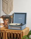 """<p><strong>CROSLEY RADIO</strong></p><p>urbanoutfitters.com</p><p><strong>$79.00</strong></p><p><a href=""""https://go.redirectingat.com?id=74968X1596630&url=https%3A%2F%2Fwww.urbanoutfitters.com%2Fshop%2Fcrosley-voyager-bluetooth-record-player&sref=https%3A%2F%2Fwww.countryliving.com%2Flife%2Fg32368852%2Fgifts-dad-wants-nothing%2F"""" rel=""""nofollow noopener"""" target=""""_blank"""" data-ylk=""""slk:Shop Now"""" class=""""link rapid-noclick-resp"""">Shop Now</a></p><p>Nestled in a handsome briefcase, this Bluetooth-enabled vintage-inspired turntable will also play his favorite vinyl LPs, so just think twice as to whether you want to hear all of his albums from the 70s.</p>"""