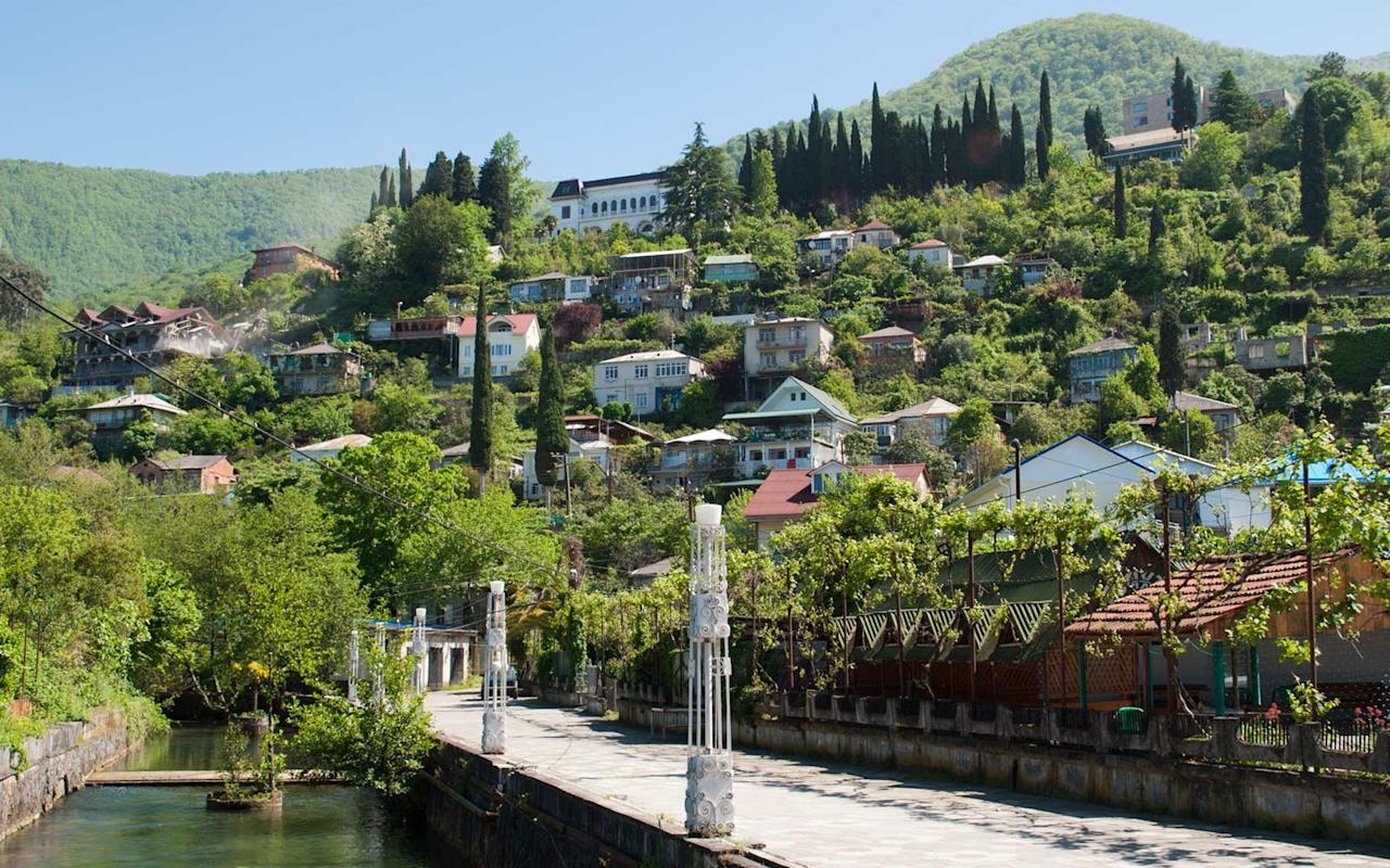 """<p>In 1993, Abkhazia seceded from Georgia and the country <a href=""""http://www.bbc.com/news/world-europe-18175030"""">formally declared independence in 1999</a>, although it is still not recognized internationally. According to <a href=""""https://www.travelandleisure.com/travel-guide/georgia-europe"""">Georgia</a>, the area is still occupied by Russia and in 2014, Georgia accused Moscow of trying to annex Abkhazia, according to <a href=""""https://www.bbc.com/news/world-europe-18175030"""">BBC</a>.</p>"""