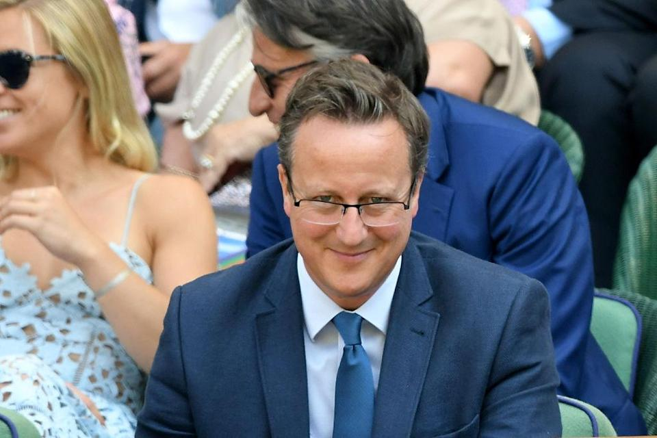 <em>David Cameron has reportedly finished writing his memoirs on his time as Prime Minister (Picture: Getty)</em>