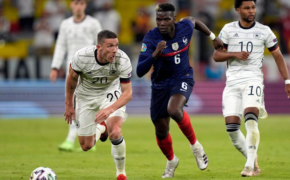 Pogba pulls the strings in the French midfield - AP