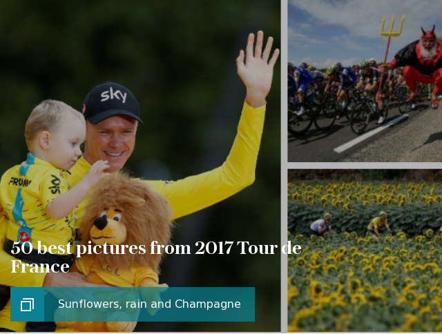 50 best pictures from 2017 Tour de France