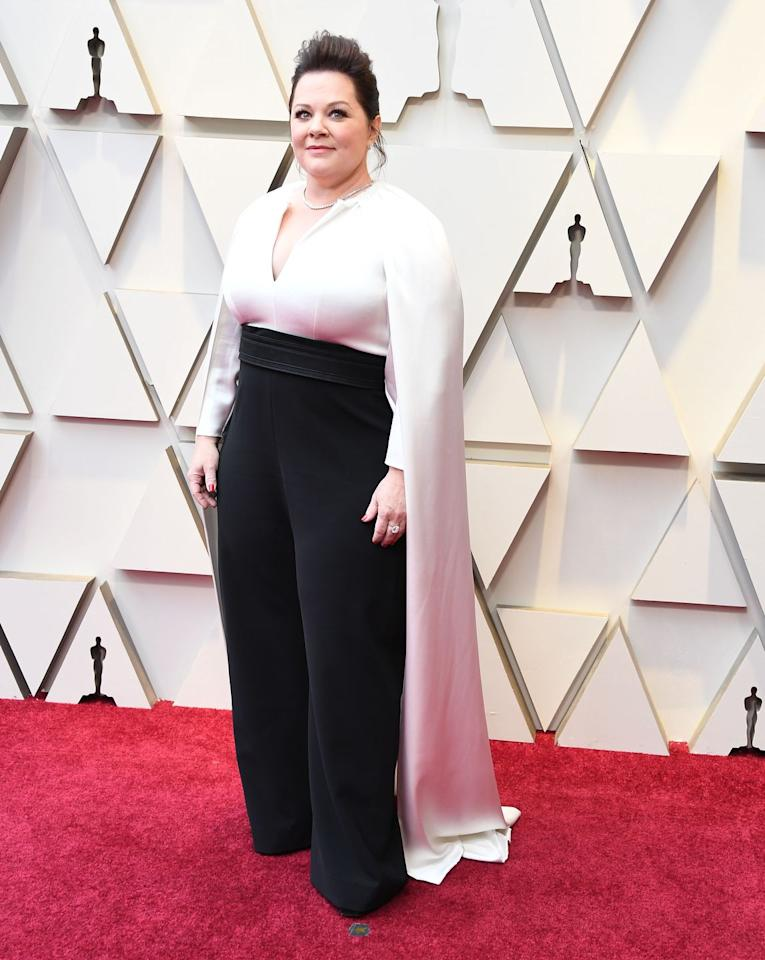 """<p>At the 2019 Oscars, <a href=""""https://www.womenshealthmag.com/health/a26515986/melissa-mccarthy-oscars-2019-cbd-oil-toes/"""" target=""""_blank"""">Melissa McCarthy also told </a><em><a href=""""https://www.womenshealthmag.com/health/a26515986/melissa-mccarthy-oscars-2019-cbd-oil-toes/"""" target=""""_blank"""">E!</a></em> that she slathered it all over her toes before walking the red carpet. And honestly, this trick isn't just for fancy events—kinda tempted to try it for all my uncomfy heels. </p>"""