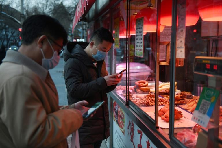 Much of China has ground to a halt in recent weeks as a result of coronavirus prevention efforts (AFP Photo/GREG BAKER)