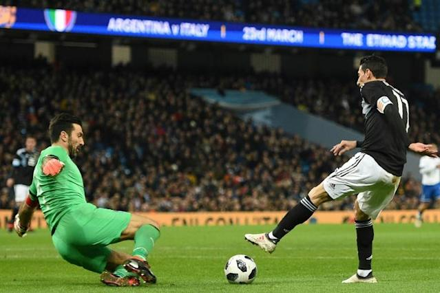As Italy goalkeeper Gianluigi Buffon ends his international career with dull friendlies instead of at a World Cup, many fans say they will support Argentina, who Buffon faced in March