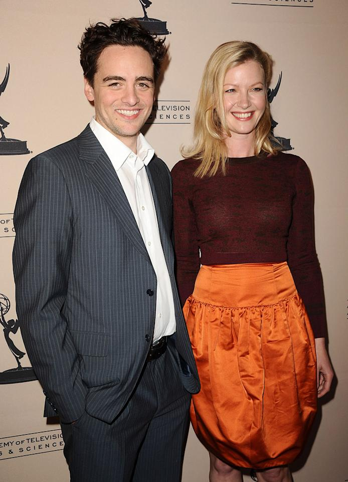"Vincent Piazza and Gretchen Mol arrive at The Academy of Television Arts & Sciences Presents An Evening With ""<a href=""http://tv.yahoo.com/boardwalk-empire/show/41428"">Boardwalk Empire</a>"" event at Leonard H. Goldenson Theatre on April 26, 2012 in North Hollywood, California."