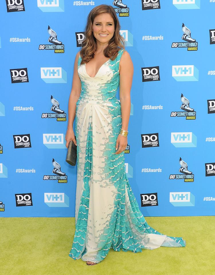 HOLLYWOOD, CA- JULY 31: Host Sophia Bush arrives at the DoSomething.org and VH1's 2013 Do Something Awards at Avalon on July 31, 2013 in Hollywood, California.(Photo by Jeffrey Mayer/WireImage)