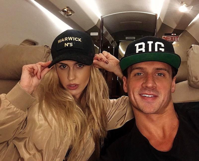 """<p>Things are looking up for the swimmer and his pregnant fiancée Kayla Rae Reid. """"We fly together we die together we bad ass couple for life!"""" he exclaimed. """"We have been thru so much together and our new chapter in life has started this year. It's only going to get better and better!! Happy Valentine's Day @kaylaraereid I love you with all my heart!!!! #valentines #mylove."""" (Photo: <a rel=""""nofollow noopener"""" href=""""https://www.instagram.com/p/BQfz2A7gxuj/?taken-by=ryanlochte"""" target=""""_blank"""" data-ylk=""""slk:Instagram"""" class=""""link rapid-noclick-resp"""">Instagram</a>) </p>"""