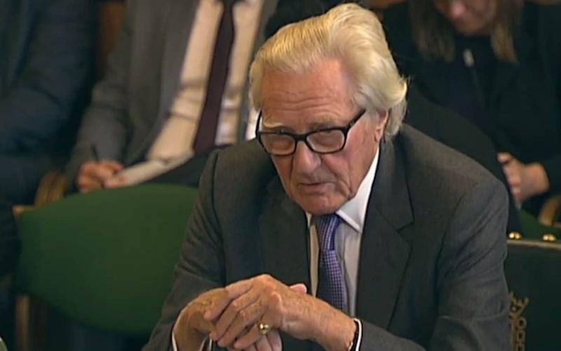 Lord Heseltine, the former Cabinet minister sacked as a Government adviser after speaking in favour of amendments to the Article 50 bill, has sent a stinging parting shot to Theresa May.