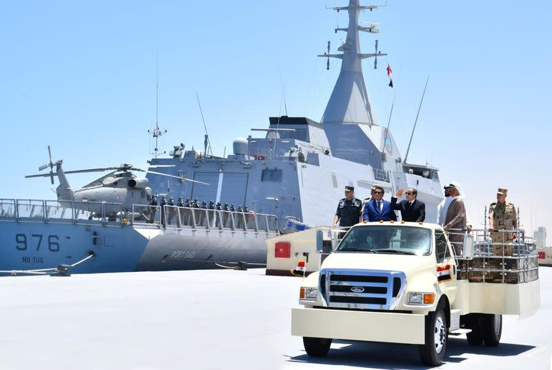 """Inauguration of the new """"July 3"""" naval base"""