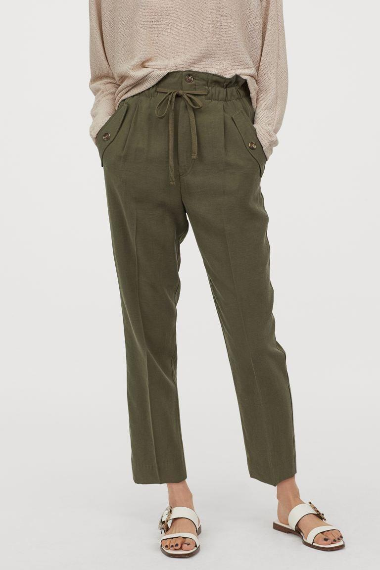 <p>Style these <span>H&amp;M Ankle-length Pants</span> ($30) with your favorite sandals.</p>
