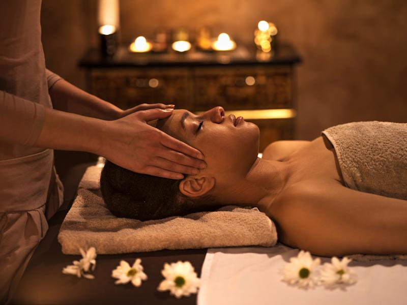 "Use <a href=""https://www.spafinder.com/"" target=""_blank"">Spa Finder</a> to find the perfect spa service for her."