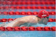 <p>25-year old Reece Dunn just missed out on a gold medal in his first of four events, the men's S14 100m butterfly final. Brazil's Gabriel Bandeira pipped him to the post but Dunn said afterwards that he was 'a little disappointed in my finish, I lost it there, but still happy nonetheless.'</p>