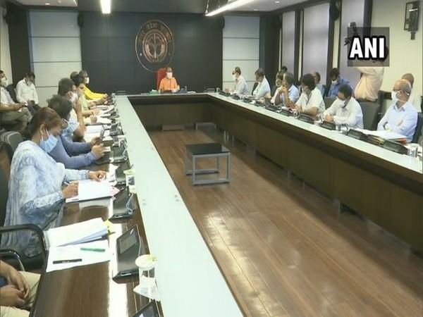 Uttar Pradesh Chief Minister Yogi Adityanath on Monday held a meeting with officers of the state over 'Ease of Doing Business'.
