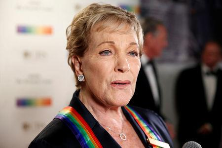 Singer and actor Julie Andrews arrives for the Kennedy Center Honors in Washington, U.S., December 3, 2017.   REUTERS/Joshua Roberts