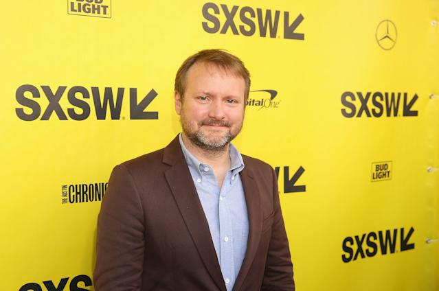 Rian Johnson attends the <em>Star Wars: The Last Jedi</em> —  <em>The Director and The Jedi</em> SXSW documentary premiere at the Paramount Theatre on March 12, 2018, in Austin, Tex. (Photo: Jesse Grant/Getty Images for Disney)