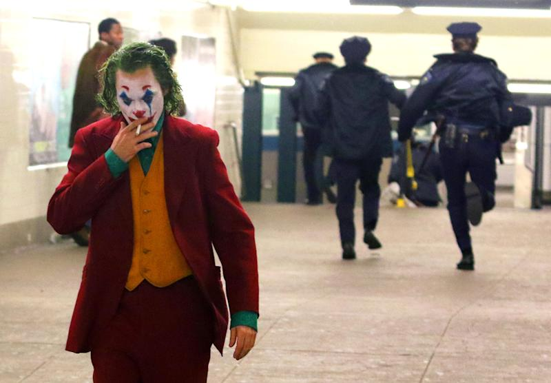 Check out new footage from upcoming Joker movie