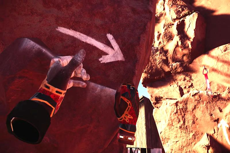 Oculus Touch controller turns 'The Climb' VR experience into a real cliffhanger