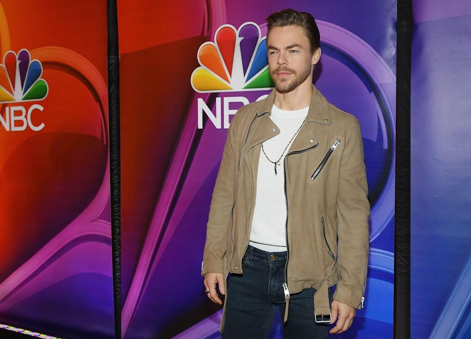"""<p>Though his time with the Scouts ended prematurely due to dancing commitments, the <em>Dancing with the Stars </em>performer has remained a loyal supporter of the organization. <a href=""""https://blog.scoutingmagazine.org/2017/11/10/dancer-derek-hough-using-star-power-support-scouting-national-parks/"""" rel=""""nofollow noopener"""" target=""""_blank"""" data-ylk=""""slk:Hough"""" class=""""link rapid-noclick-resp"""">Hough</a> has used his Instagram account, which has over 2 million followers, to promote the Scouts in various ways.</p>"""