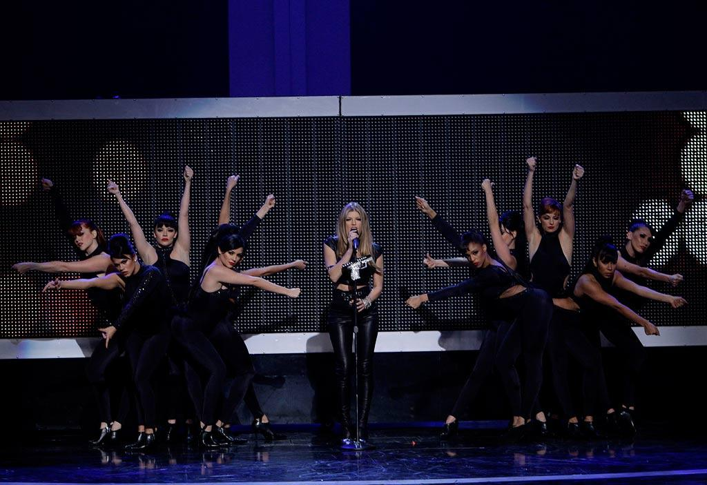 Fergie performs on Movies Rock.