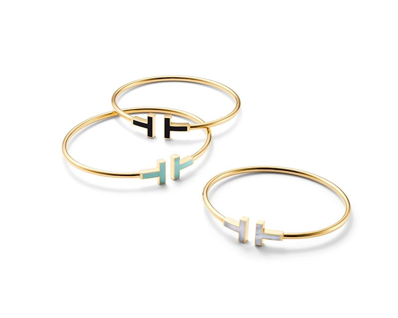 Tiffany & Co new T designs. (PHOTO: Tiffany & Co.)