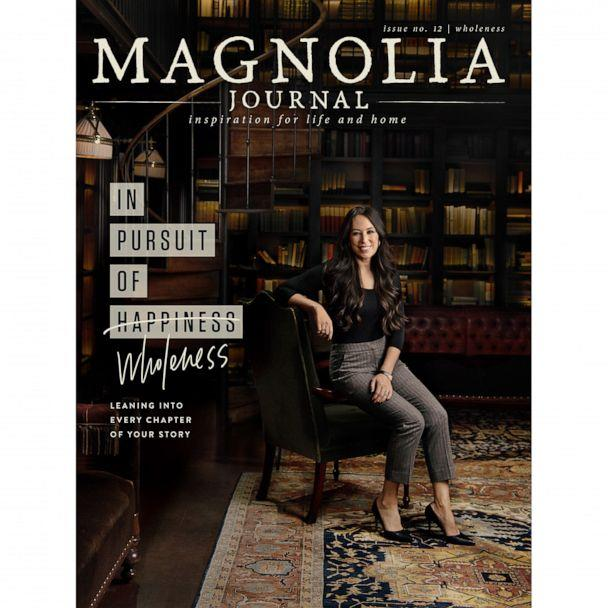 PHOTO: Joanna Gaines graces the cover of issue 12 of 'Magnolia Journal.' (Magnolia)