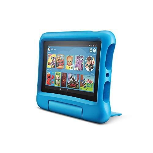 "Fire 7 Kids Edition Tablet, 7"" Display, 16 GB, Blue Kid-Proof Case (Amazon / Amazon)"