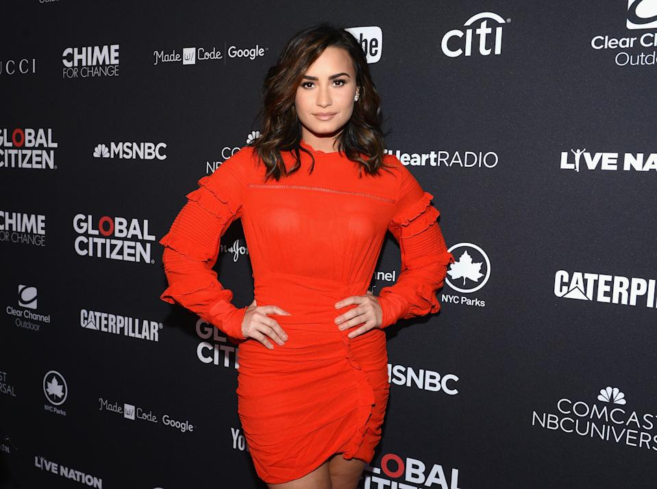 Demi Lovato has been rushed to hospital over a suspected overdose. Photo: Getty Images