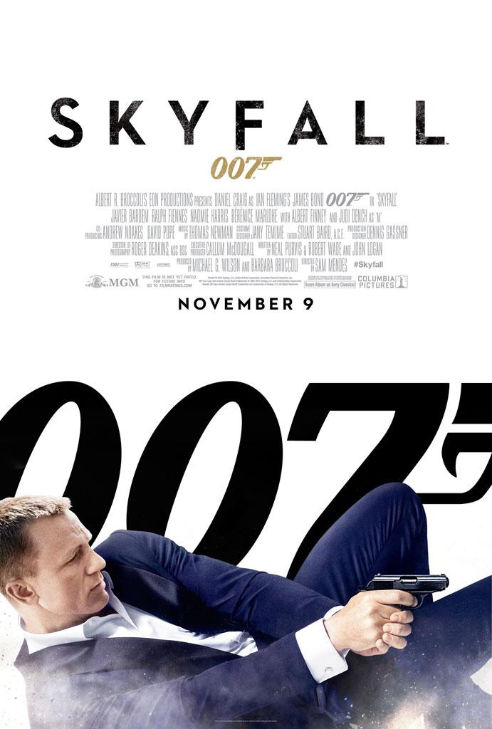 "Columbia Pictures' ""Skyfall"" - 2012"
