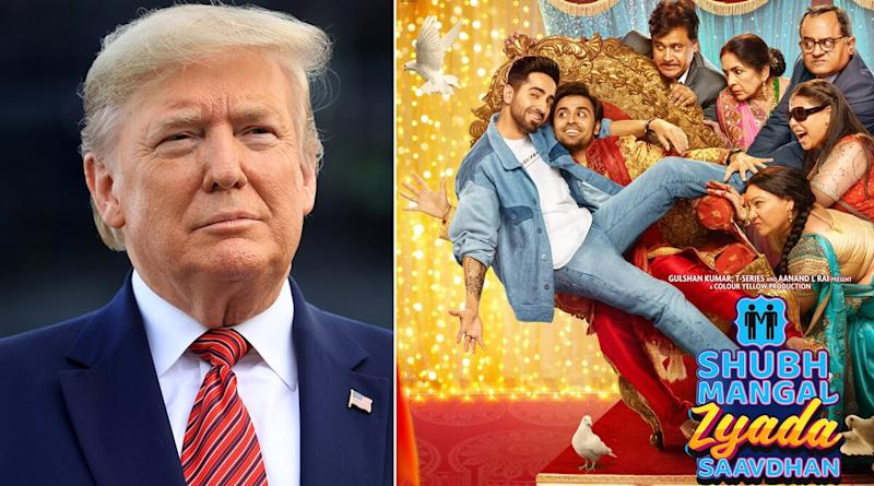 US President Donald Trump Gives a Thumbs-Up to Bollywood's Gay Romance Shubh Mangal Zyada Saavdhan - Read Tweet!